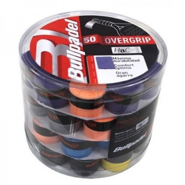 BOTE OVERGRIPS BULLPADEL COLORES