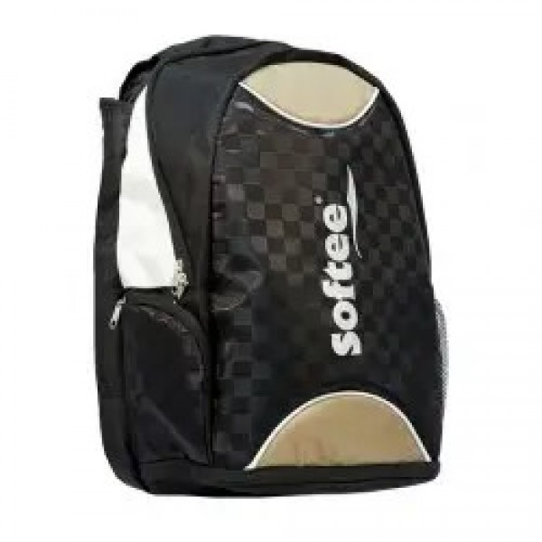 MOCHILA SOFTEE CHECK-IN DORADA/NEGRA