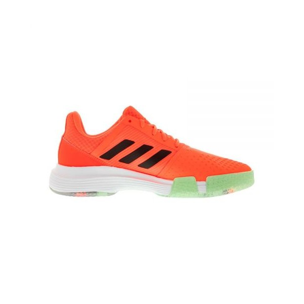 ADIDAS COURTJAM BOUNCE CORAL BLANCO