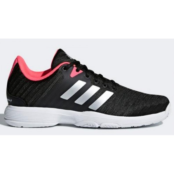 ADIDAS BARRICADE COURT WOMAN NEGRAS